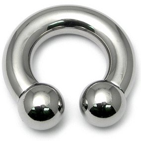8mm Gauge Steel Circular Barbell Internally Threaded