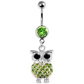 Jewelled Owl Belly Bar