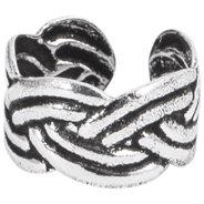 925 Sterling Silver Ear Cuff - Sailor's Knot